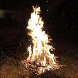 焚火初めしてきました