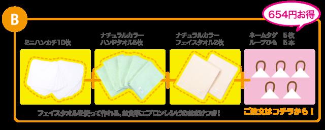 入園・入学準備タオル,タオルハンカチ,白